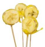 Karamellisierte Bananen Stockfoto