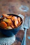 Karamellisierte Karotten Lizenzfreies Stockfoto