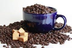 Karamellkaffee Stockfoto