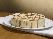 Karamellschokoladenkuchen Stockbilder