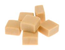 Karamelltoffeesüßigkeit Stockfotos