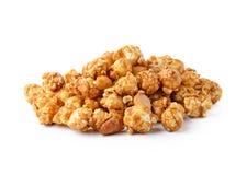 Karamelpopcorn Stock Foto