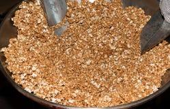 Karamelpopcorn Royalty-vrije Stock Afbeeldingen