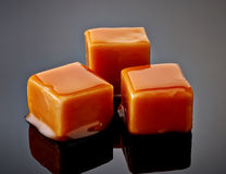 Karamelsuikergoed Royalty-vrije Stock Foto's