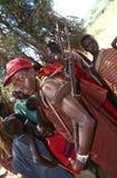 A Karamojong man with a gun, Uganda Stock Photography