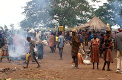 Karamojong villagers, Uganda Stock Photos