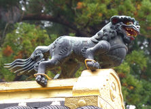 Karamon, Toshogu寺庙,日光 库存图片
