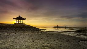 Karang plaża - Bali Indonezja fotografia stock