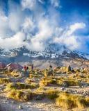 Karanga, Kibo, het Nationale Park van Kilimanjaro, Tanzania, Afrika Stock Afbeeldingen