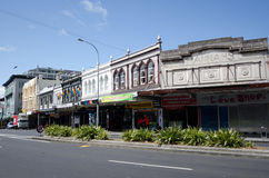 Karangahape Road in Auckland New Zealand Royalty Free Stock Photo