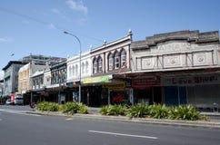 Karangahape väg i Auckland Nya Zeeland Royaltyfri Foto
