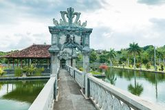 Karangasem water temple palace in Bali Stock Photos