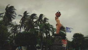 Karangasem wioska Zdjęcia Royalty Free