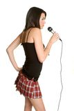 karaoke μικρόφωνο Στοκ Εικόνα
