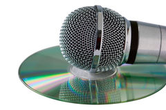 Karaoke Stockfoto