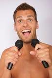 Karaoke Foto de archivo libre de regalías