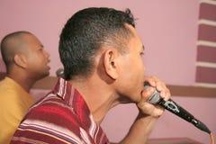 Karaoke Imagem de Stock Royalty Free