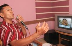 Karaoke immagini stock libere da diritti