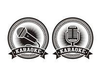 Free Karaoke Badges Stock Photos - 38143173