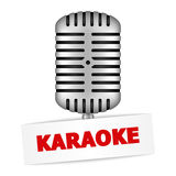 Karaoke Banner Royalty Free Stock Photo
