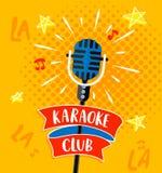 Karaoke cub symbol. Royalty Free Stock Photo