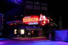 Karaoke de levantamiento de la estrella del paseo de la ciudad, Orlando, la Florida Foto de archivo libre de regalías