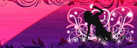 Karaoke dziewczyna ilustracji
