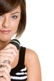 Karaoke Girl royalty free stock photo
