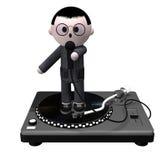 Karaoke kid stock image