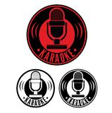 Karaoke Microphone symbol Royalty Free Stock Photography