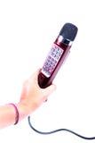 Karaoke-Mikrofon Stockfotografie