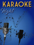Karaoke night Stock Image
