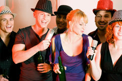 Karaoke Party Royalty Free Stock Photography