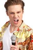 karaoke podpisany Obraz Royalty Free