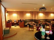 Karaoke room Stock Photo
