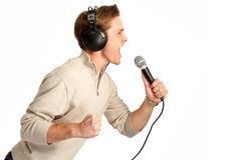 Karaoke signer Stock Photos