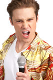 Karaoke signer Royalty Free Stock Image