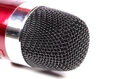 Karaokemicrofoon Stock Afbeelding