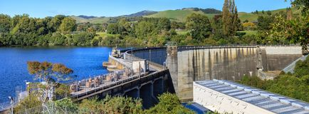 Karapiro lake power station, New Zealand Stock Image