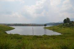 Karapuzha-Verdammung, Wayanad, Kerala, Indien lizenzfreie stockfotos