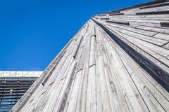 KARASJOK, NORUEGA - 24 DE JULHO DE 2016: Sami Parliament imagens de stock royalty free