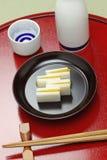 Karasumi daikon, bottarga radish, appetizer for japanese rice wine Royalty Free Stock Photography