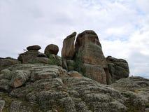 Karatè di pietra immagini stock