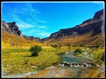 Karatau-Berge stockbild