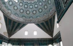 Karatay博物馆, Konya瓦片马赛克。 库存图片