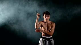 Karate άσκησης ατόμων ή kung fu Κύρια εκμετάλλευση φιλμ μικρού μήκους