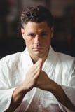 Karate άσκηση φορέων στοκ φωτογραφίες με δικαίωμα ελεύθερης χρήσης