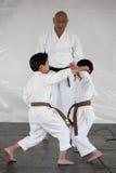 karate επίδειξης Στοκ φωτογραφία με δικαίωμα ελεύθερης χρήσης