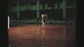 Karate επίδειξη κατάρτισης απόθεμα βίντεο
