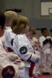 karate κατσίκια Στοκ φωτογραφίες με δικαίωμα ελεύθερης χρήσης